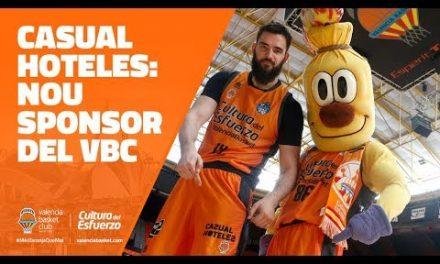 Casual Hoteles, nuevo patrocinador de Valencia Basket
