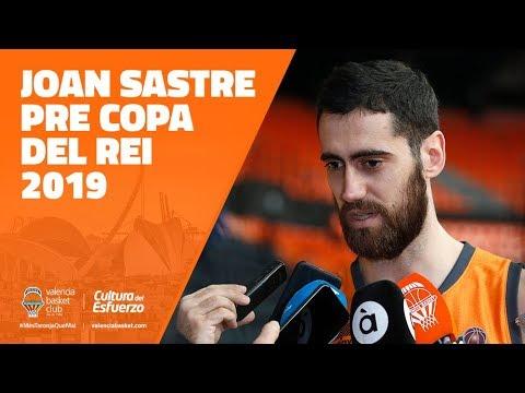 Joan Sastre pre Copa del Rey 2019