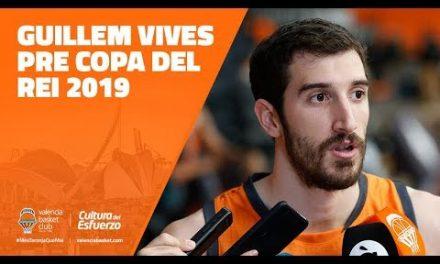 Guillem Vives pre Copa del Rey 2019