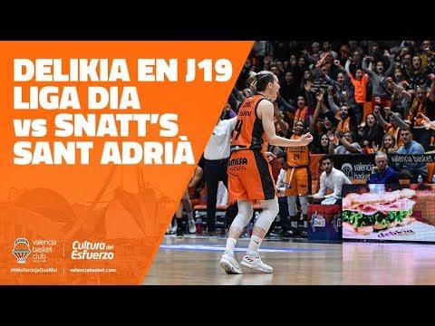 Delikia en LIGA DIA J19 vs Snatt's Sant Adrià