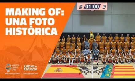 Making of: Una foto histórica para el Valencia Basket