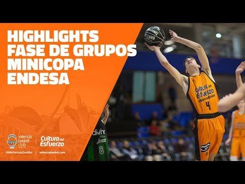 Highlights fase de grupos Minicopa Endesa