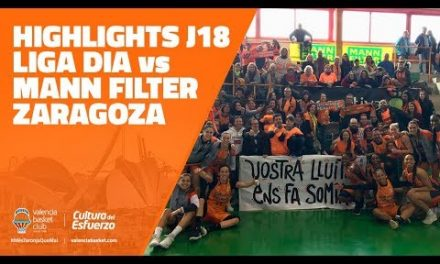 LIGA DIA Highlights J18 vs Mann Filter Zaragoza