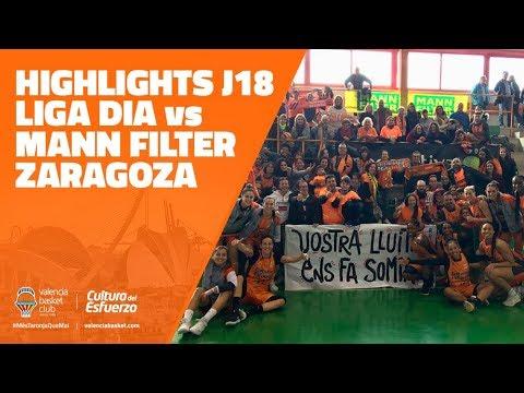LIGA DIA Highlights J18 vs Mann Filter Zaragoza