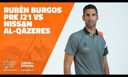 Rubén Burgos pre J21 vs Nissan Al-qázeres