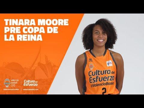 Tinara Moore Pre Copa de la Reina