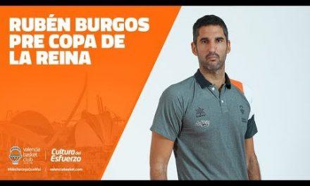 Rubén Burgos Pre Copa de la Reina