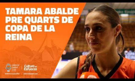 Tamara Abalde pre Cuartos vs Spar Citylift Girona