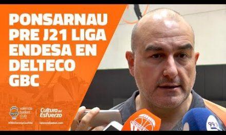 Ponsarnau pre J21 Liga Endesa vs Delteco GBC