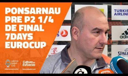 Ponsarnau pre P2 Cuartos 7DAYS Eurocup en Rytas Vilnius
