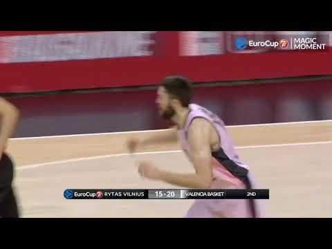 Mate de Mike Tobey en Rytas Vilnius 1/4 P2 7Days Eurocup