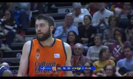 Mate Mike Tobey vs UCAM Murcia J22 Liga Endesa