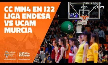 Centro Comercial y de Ocio MN4 en J22 Liga Endesa vs UCAM Murcia