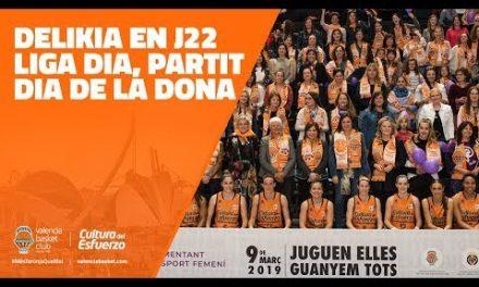 Delikia en J22, partit Dia de la Dona