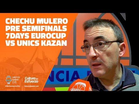 Valoración Chechu Mulero pre Semifinales 7DAYS Eurocup