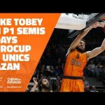 Mike Tobey en P1 Semis 7DAYS Eurocup vs Unics Kazan