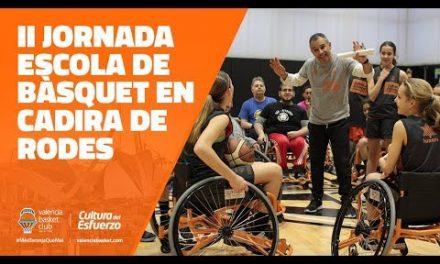II Jornada – Escuela de baloncesto en silla de ruedas
