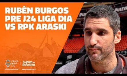 Rubén Burgos pre J24 Liga Dia vs RPK Araski