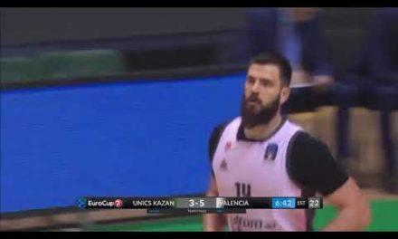 Dubljevic: 10 pts en el primer cuarto Semis 7DAYS Eurocup en Unics Kazan