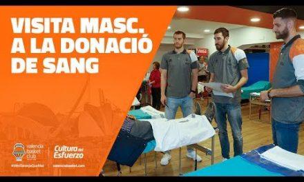Visita masculina a la Donación de Sangre