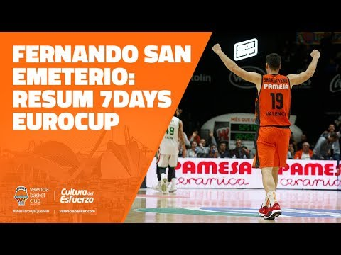 Fernando San Emeterio resumen 7DAYS Eurocup