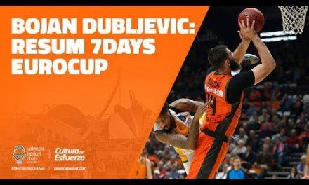 Bojan Dubljevic resumen 7DAYS Eurocup