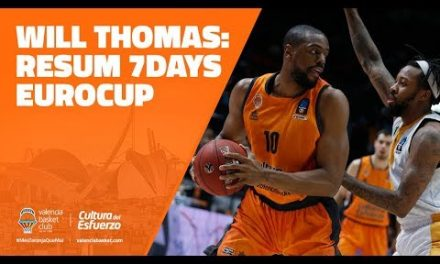 Will Thomas resumen 7DAYS Eurocup