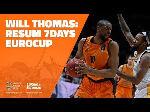 Will Thomas resumen 7DAYS Eurocup