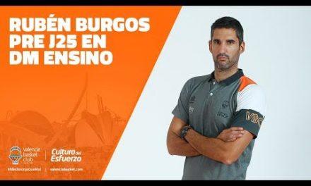 Rubén Burgos Pre J25 en DM Ensino