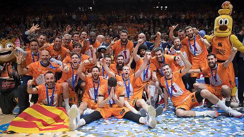 Valencia Basket logra su 4º título y el 7º de un equipo español en la EuroCup