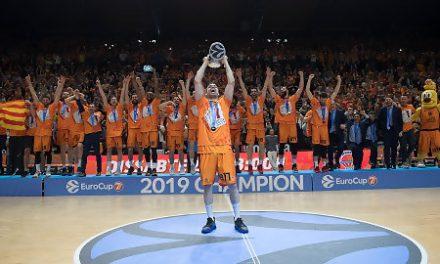 El Valencia Basket se corona como campeón de la EuroCup