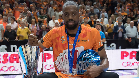 Will Thomas, MVP de la final de la EuroCup