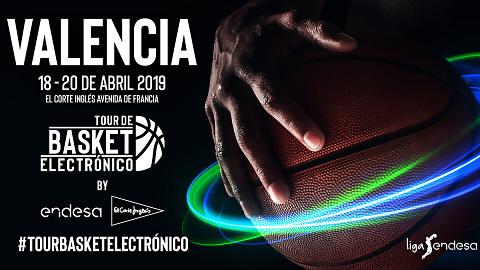 El Tour de Basket Electrónico llega a Valencia con Endesa y El Corte Inglés