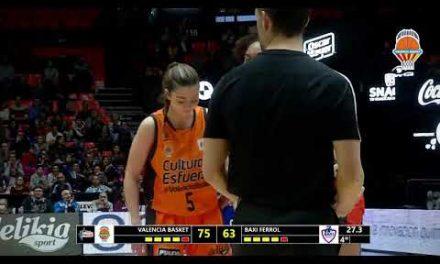 Primeros puntos de Lorena Segura en Liga DIA