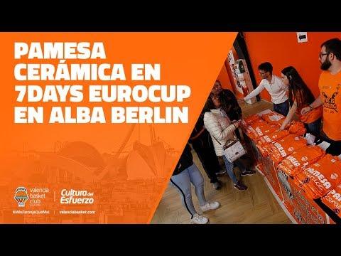 Pamesa Cerámica en P1 Final Eurocup vs ALBA Berlin