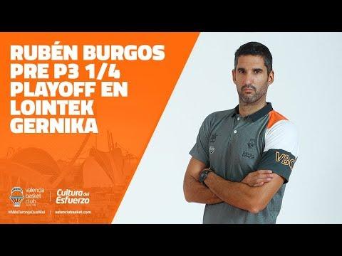 Rubén Burgos Pre P3 1/4 Playoff Liga DIA