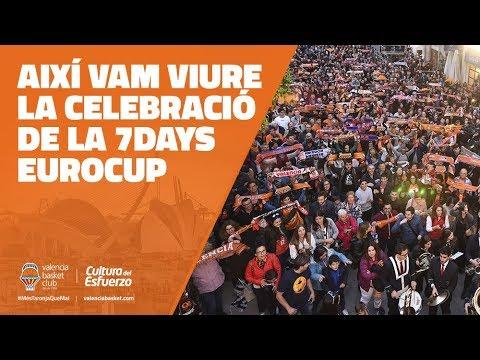 Así vivimos la celebración de la 4ª 7DAYS EuroCup