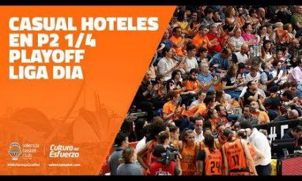 Casual Hoteles en P1 1/2 Playoff Liga DIA