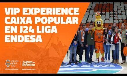VIP Experience Caixa Popular en J24 Liga Endesa vs Divina Seguros Joventut