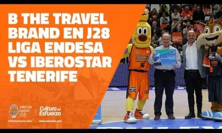 B the travel brand en J28 Liga Endesa vs Iberostar Tenerife