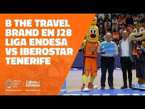 B the travel brand en J28 Liga Endesa vs Iberostar Tenerife