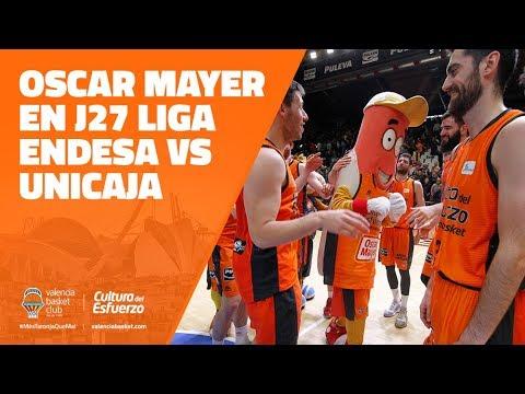 Oscar Mayer en J27 Liga Endesa vs Unicaja