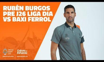 Ruben Burgos Pre J26 Liga DIA vs Baxi Ferrol