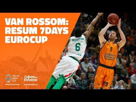 Sam Van Rossom resumen 7DAYS Eurocup