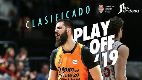 El Valencia Basket ya es equipo de Playoff