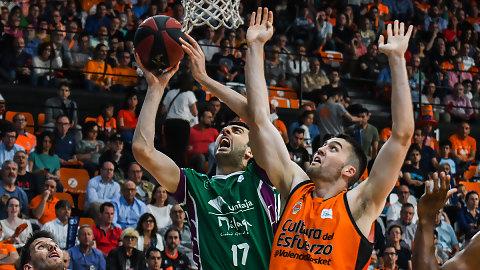 Un brutal Milosavljevic pone contra las cuerdas al Valencia Basket (78-85)