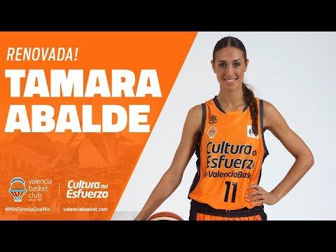 Tamara Abalde renueva con VBC