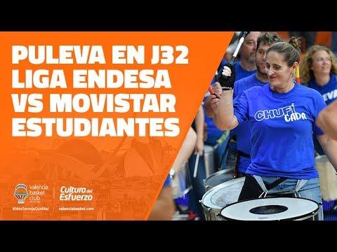 Puleva en J32 Liga Endesa vs Movistar Estudiantes