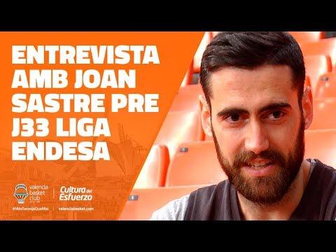 Entrevista con Joan Sastre pre J33 Liga Endesa en Real Madrid