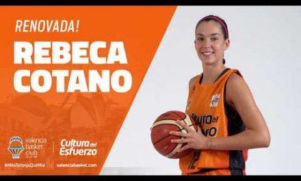 Receba Cotano renueva con Valencia Basket